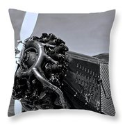 Ford Tri-motor 3 Throw Pillow
