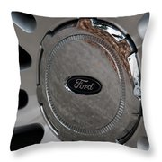 Ford Trucking Throw Pillow