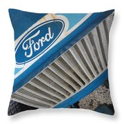 Ford Tuff Throw Pillow