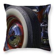 Ford Whitewall Throw Pillow