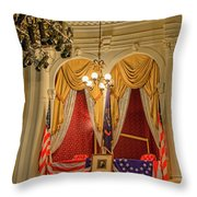 Ford's Theatre President's Box Throw Pillow