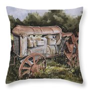 Fordson Model F Throw Pillow by Sam Sidders