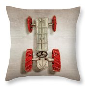 Fordson Tractor Top Throw Pillow