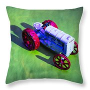 Fordson Tractor Toy 1 Throw Pillow