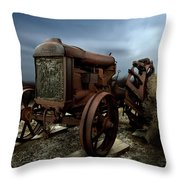 Fordson Tractor Throw Pillow