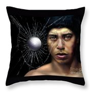 Fore-wood Throw Pillow