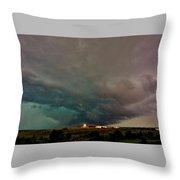 Foreboding Skies Throw Pillow