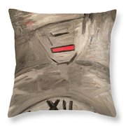 Foreign Future Throw Pillow