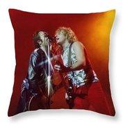 Foreigner 12 Throw Pillow