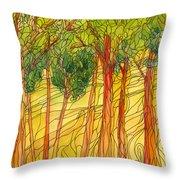 Forest #15 Throw Pillow