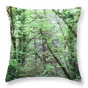 Forest 3 Throw Pillow