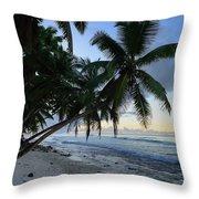 Forest Beach 2 Throw Pillow