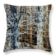 Forest Calm Throw Pillow