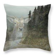 Forest Dweller Throw Pillow