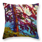 Forest Elder Throw Pillow