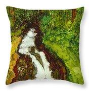 Forest Fall Throw Pillow