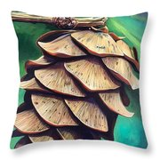 Forest Fantasy Throw Pillow