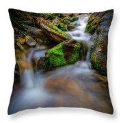 Forest Flow Throw Pillow
