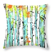 Forest For The Trees 2 Throw Pillow