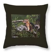 Forest Friend Throw Pillow