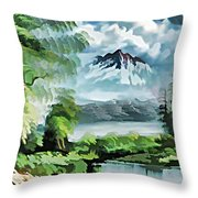 Forest Impression 18 Throw Pillow