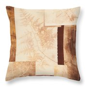 Forest Imprints Throw Pillow
