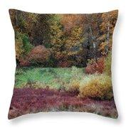Forest Magic Throw Pillow