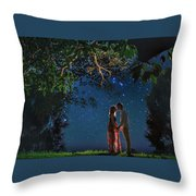 Forest Mingle Throw Pillow