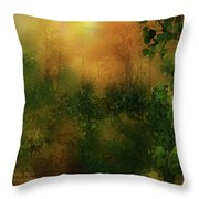 Forest Moods Throw Pillow