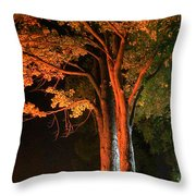 Forest Of Darkness Throw Pillow