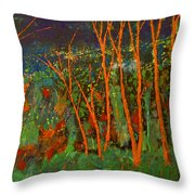 Forest Of Morpheus Throw Pillow