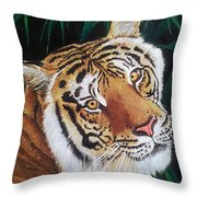 Forest Of The Night Throw Pillow
