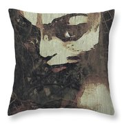 Forest Orphan Throw Pillow