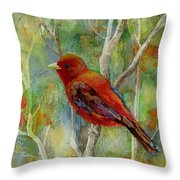 Forest Serenity Throw Pillow