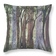 Forest Spring Throw Pillow