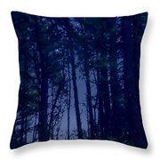 Forest Starlight Throw Pillow