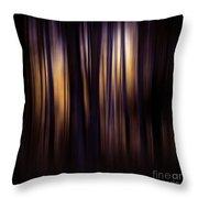 Forest Surround Throw Pillow