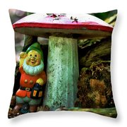 Forest Toy Throw Pillow