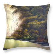 Forest Tranquility  Throw Pillow