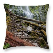 Forest Vibrance Throw Pillow