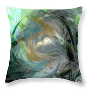 Forest Wind Throw Pillow