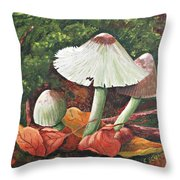 Forest Wonders Throw Pillow