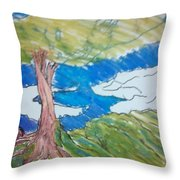 Forestree Throw Pillow