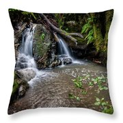 Forests Deep Throw Pillow