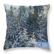 Forest's Fairy-tale. Throw Pillow