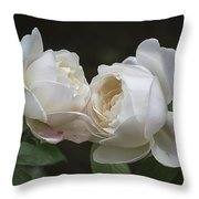 Forever And Always - Desdemona Roses Throw Pillow