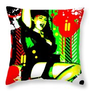 Forever Pinup I Throw Pillow