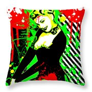 Forever Pinup IIi Throw Pillow