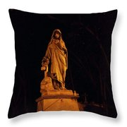 Forever Still And Cold Throw Pillow