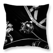 Forged Pattern Throw Pillow